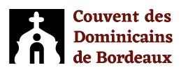 Logo long des Dominicains de Bordeaux