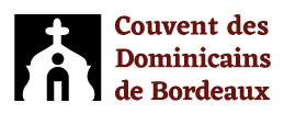 Logo long des Dominicains de Bordeaux